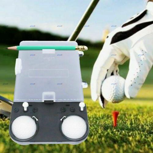 Golf Holder Golfer Score Keeper Pack