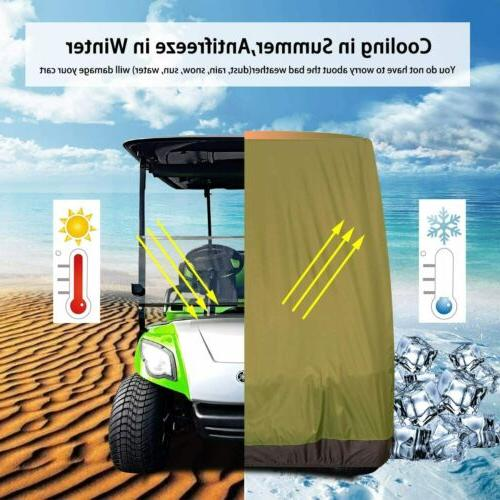 Golf Cart Covers 4 Passenger YAMAHA Club Car Golf 2 Colors Option