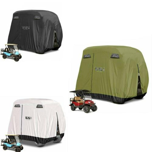 golf cart covers 4 passenger fit golf