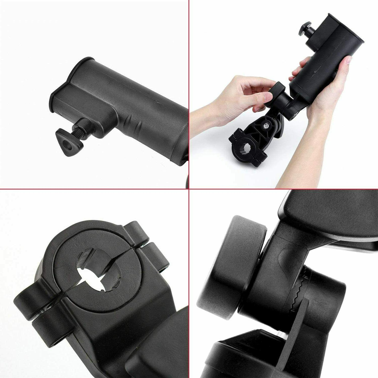 Golf Cart Adjustable Stroller Attachment with Hot