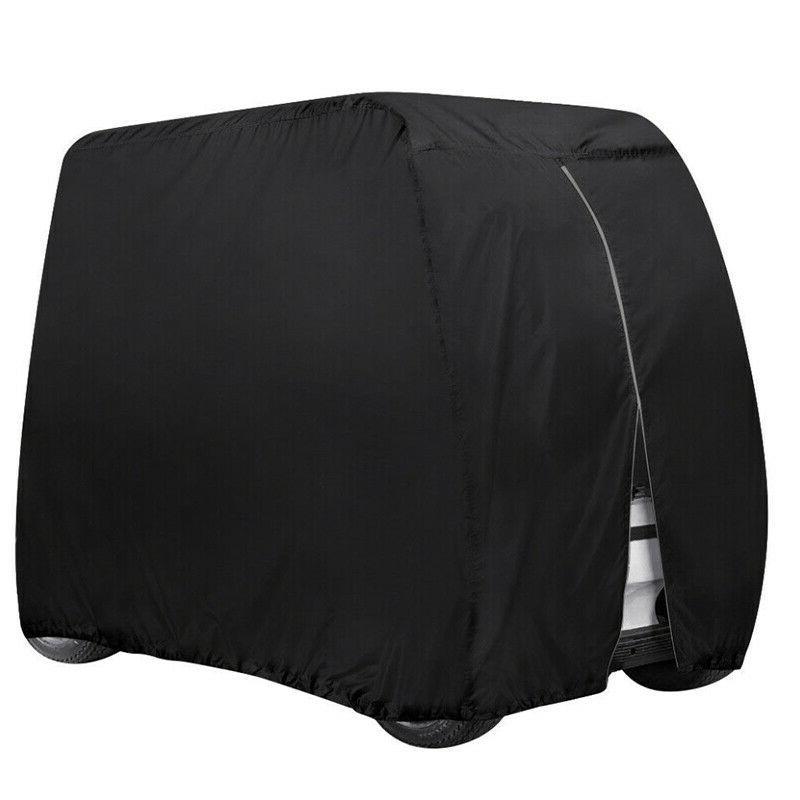 Waterproof Golf Cart Cover 4 Passenger Dustproof Storage For