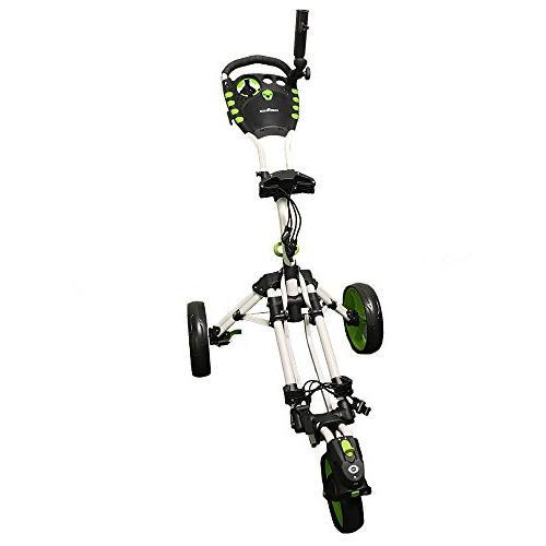 golf swivelease 3 wheel folding