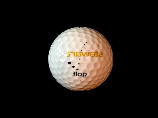 logo golf ball stewart golf push