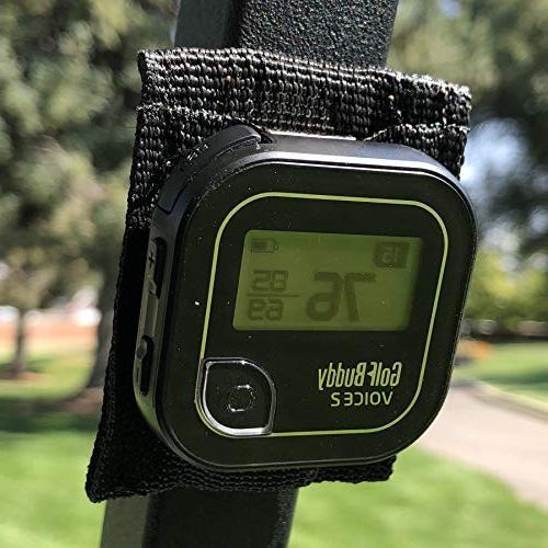 Bushwhacker Magnetic GPS Mount for Golf Cart Railing - Fits