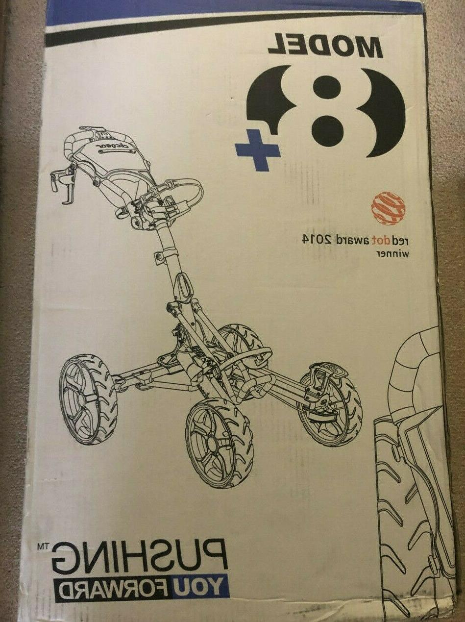 Clicgear Model 8.0+ Push Cart SAME