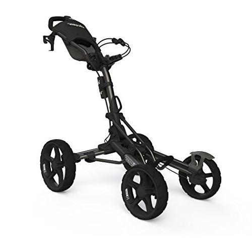 Clicgear Model 8 Push Cart-Charcoal