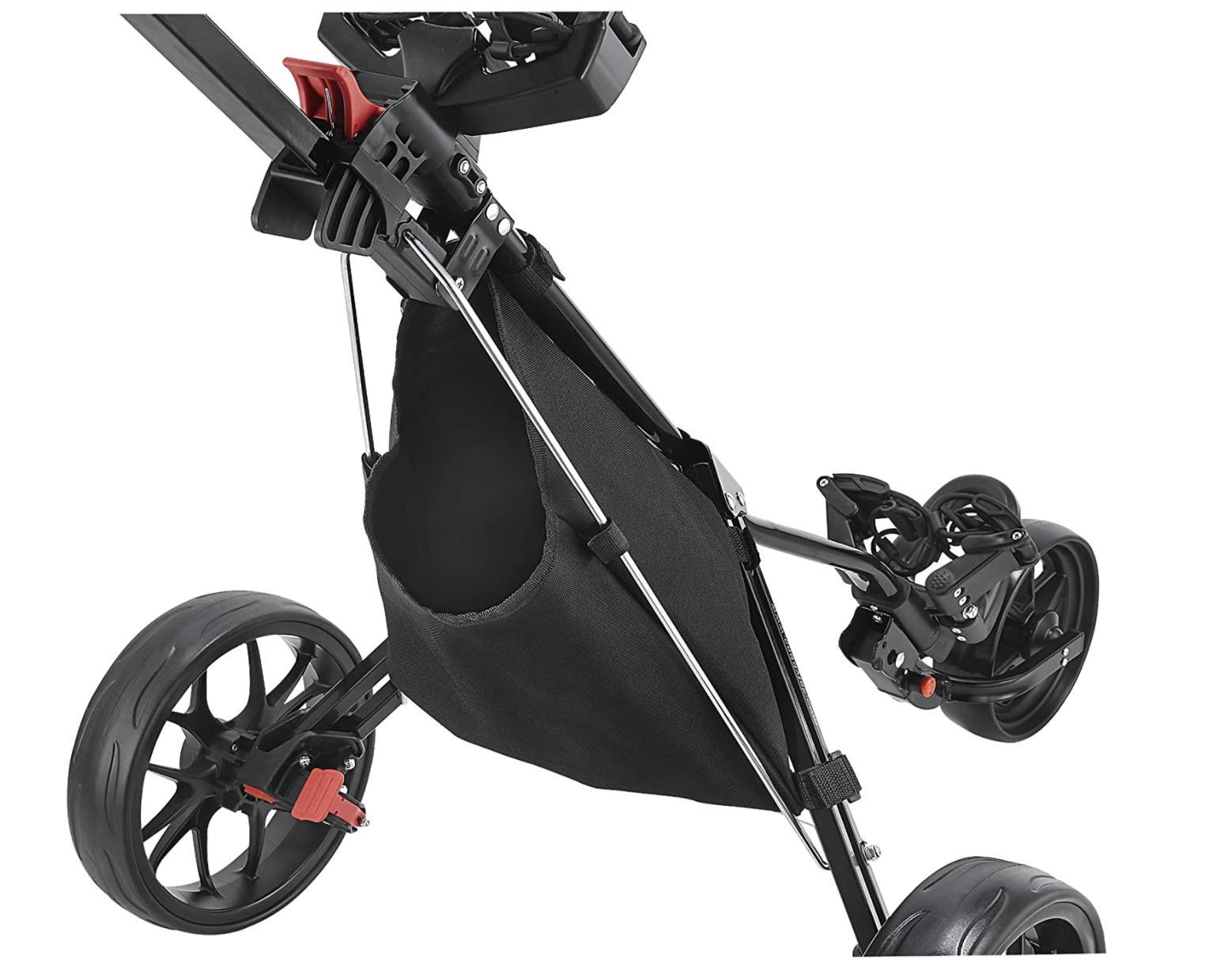 New CaddyTek Wheel Golf Version CaddyLite 11.5 V3 in Black
