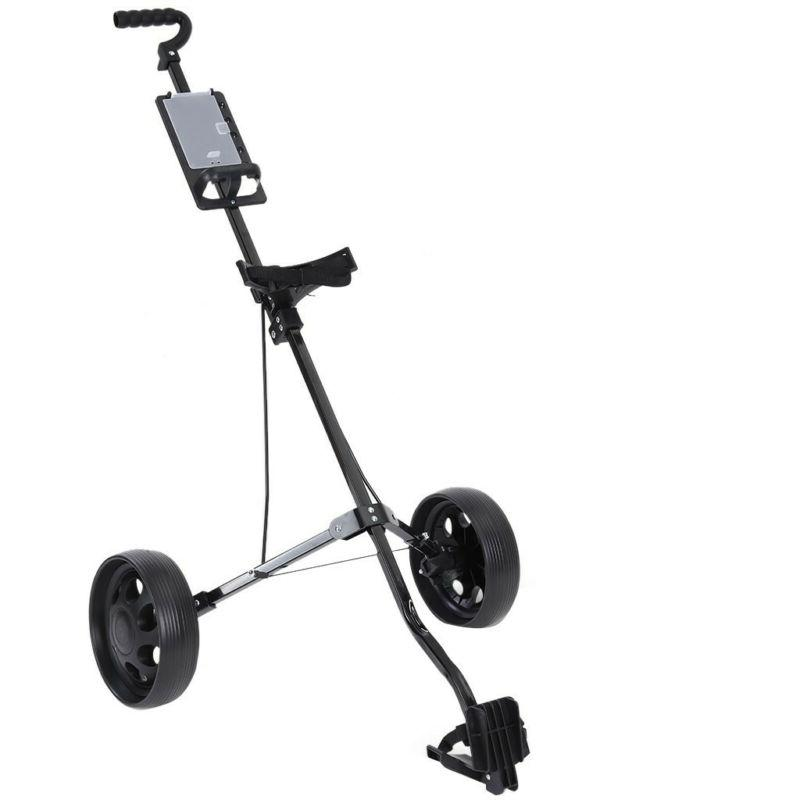 New Push Golf /Cup Trolley Steel Light