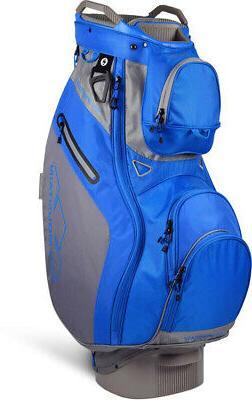 New Sun Mountain Golf- Phantom Cart Bag Gray/Cobalt 190370