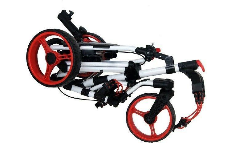 Founders Club Qwik Swerve Wheel Push Cart Trolley