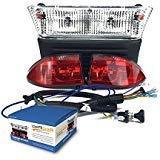 RecPro CLUB CAR PRECEDENT GOLF CART LIGHT KIT W/ LED TAIL LI