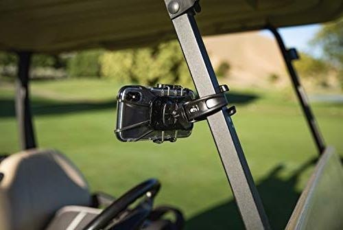 Golf - Recording System Cart Mount for Smartphone. Compatible with HTC,