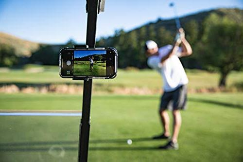 Golf Gadgets Swing Recording System Mount Smartphone. with HTC, ANY Phone.