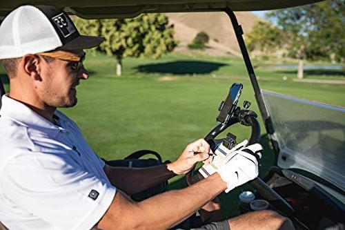 Golf Gadgets Recording | Golf Cart or Mount with Samsung HTC, ANY