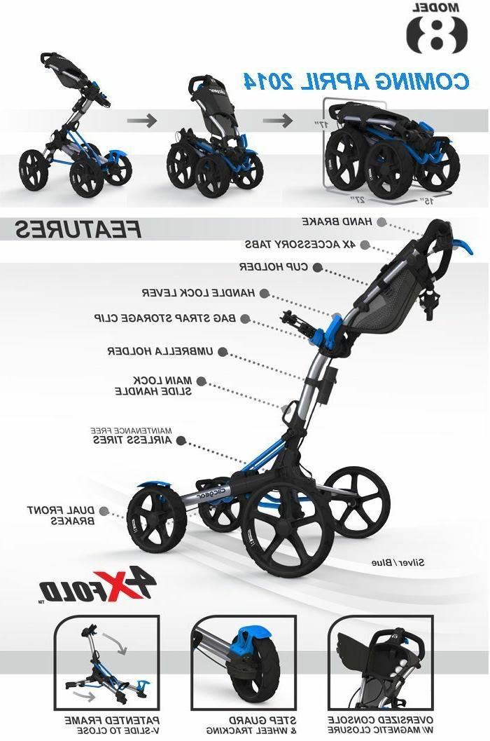 NO TAX! 8.0 Four Golf Cart 4 GREEN