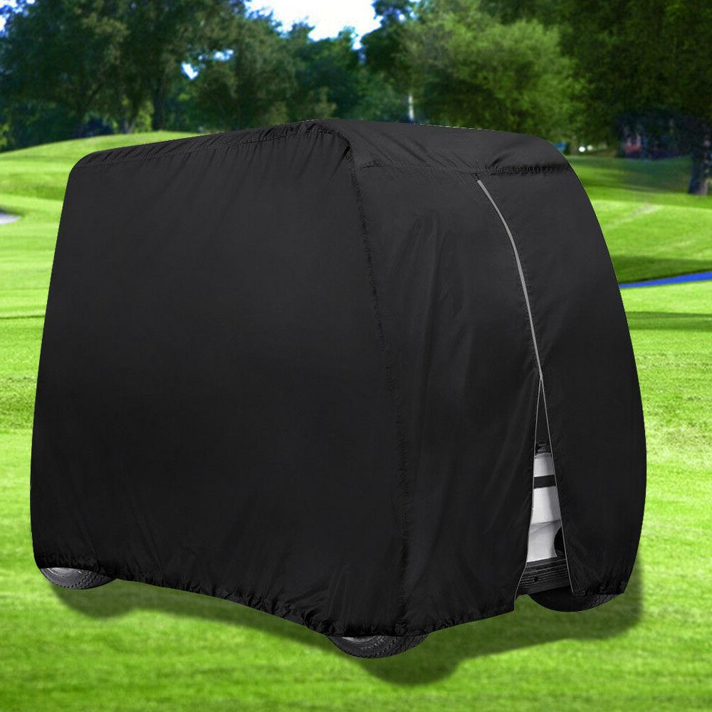 Waterproof 4 Passenger Cart Cover Fits EZ Go/Club Dust Sunproof