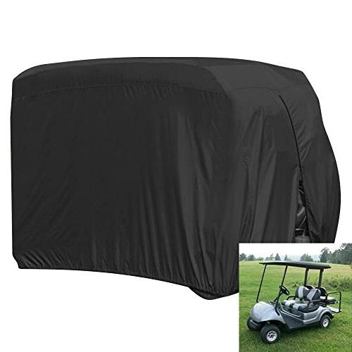 FLYMEI Waterproof Dust Prevention Golf Cart Cover for 4 Pass