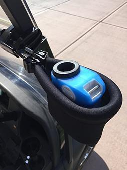 Caddie Buddy Laser Rangefinder Golf Cart Holder/Mount - Pouc