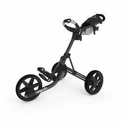 Clicgear Model 3.5+ | 3-Wheel Golf Push Cart  Charcoal/Black
