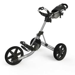 Clicgear Model 3.5+ Golf Push Cart Silver IN HAND BRAND NEW