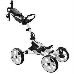 model 8 0 golf push cart white