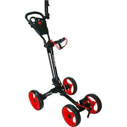 NEW Qwik Fold 3.0 Deluxe 4 Wheel Push / Pull Cart for Golf B