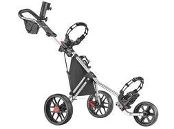 New CaddyTek Deluxe 3 Wheel Golf Push Cart Version 3, CaddyL