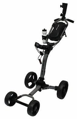 New Axglo Golf- Flip N' Go Push Cart *Gray/Black*