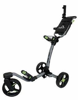 New Axglo Golf Tri-360 Push Cart Gray/Black