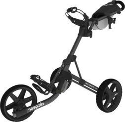 New Clicgear Model 3.5+ Golf Push/Pull Cart Charcoal **SHIPS