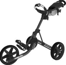 New Clicgear Model 3.5+ Golf Push/Pull Cart Charcoal