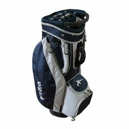 Brand new Axglo Navy and grey golf lite cart bag men or wome
