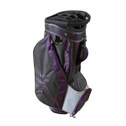 Brand new Axglo Purple and grey golf lite cart bag men or wo