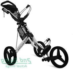 New Sun Mountain Speed Cart GX Push Pull Golf Cart Silver FR