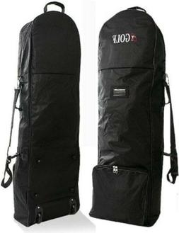 NEW Travel Cover for Golf Caddie Cart Bag Black With Caster