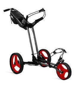 Sun Mountain Pathfinder 3 Push Cart Grey/Red