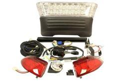 Club Car Precedent LED Street Legal Light Kit for Electric G