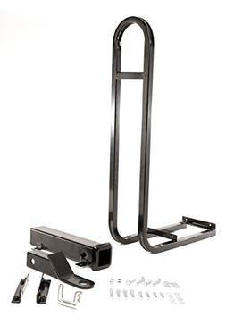 Rear Seat Trailer Hitch with Receiver and Grab Bar for Back