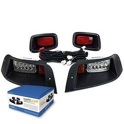 NEW RecPro EZGO TXT ADJUSTABLE GOLF CART ALL LED LIGHT KIT 1