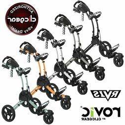 Rovic RV1S Golf Push Cart - Pick Your Color - Brand New - Cl