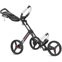 Sun Mountain Unisex Speed Cart GT Gunmetal-Red Push Cart, Gu