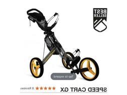 speed cart gx push pull golf carts