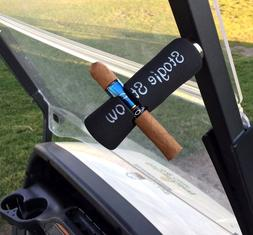 Stogie Stow - Cigar Holder - Golf Cart Magnetic Mount