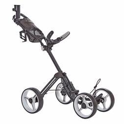Caddytek SuperLite 4-wheel Push Golf Cart Dark Gray In Hand