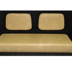 TAN CLUB CAR SEAT COVERS FOR 1982-1999 GOLF CARTS STAPLE O