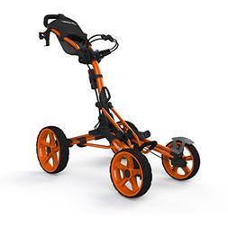 NO TAX! Clicgear 8.0 Model 8 Orange Four Wheel Golf Push Car