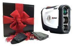 Bushnell Tour V4  Golf Laser Rangefinder | GIFT BOX BUNDLE +