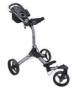 Bag Boy TriSwivel II Push Golf Cart, Silver