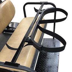 Universal Golf Cart Rear Seat Bag Attachment Holder Bracket