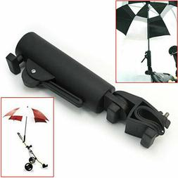 US Durable Golf Club Umbrella Holder Stand For Buggy Cart Ba
